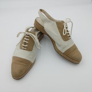 ☀️Vintage Giorgio Armani leather shoes size 37.5